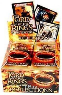 LOTR Lord of the Rings REFLECTIONS Booster Box 24ct SEALED