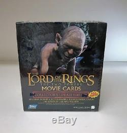 LOTR Lord of the Rings The Two Towers Update Set Sealed Trading Card Hobby Box