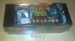 LOTR Lord of the Rings War Of The Rings Anthology Box sealed FREE SHIPPING