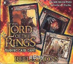LOTR Reflections 52 Card Set Ungraded Lord of the Rings CCG Decipher