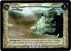 LOTR TCG 0D10 City of Kings Unreleased Decipher Promo Foil Card