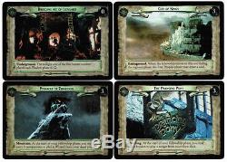LOTR TCG 0D9 0D10 0D11 and 0D12 Unreleased Promo Cards Mint Never Played