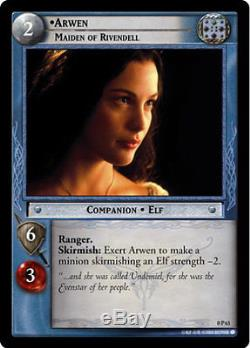 LOTR TCG 0P63 Arwen Maiden of Rivendell Exclusive Decipher Store Promo Card