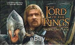 LOTR TCG Bloodlines Booster Box 36 Packs Lord of the Rings SEALED