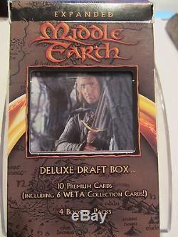 LOTR TCG EME Expanded Middle Earth Deluxe Draft Boxes all 3 factory sealed