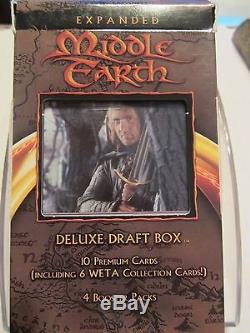 LOTR TCG EME Expanded Middle Earth Halbarad Deluxe Draft Box factory sealed