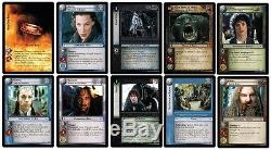 Lotr Tcg Fellowship Of The Ring Complete 363-card Set New Mint