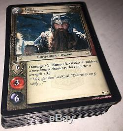 LOTR TCG Hunters Complete Common Set 62 cards with all 3 versions of 15C60