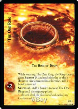 LOTR TCG Hunters Complete Set 196 cards 3 versions of 15C60 and Starter cards
