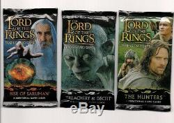 LOTR TCG Hunters ROS and T&D Booster Packs SEALED The Grand Slam of LOTR packs