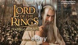 LOTR TCG RISE OF SARUMAN Booster Box SEALED plus a FREE pack to open