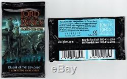 LOTR TCG Realms of the Elf-Lords Booster Box Sealed 36 Packs Lord of the Rings