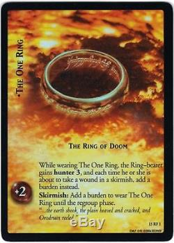 LOTR TCG The Hunters 15RF1 15RF18 18 FOIL Cards Lord of the Rings MINT/NM