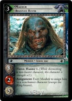 LOTR TCG The Hunters Complete Set NON-FOIL 196 cards Lord of the Rings MINT/NM