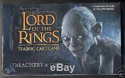 LOTR TCG Treachery and Deceit Booster Box SEALED