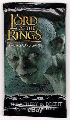 LOTR TCG Treachery and Deceit Booster Box SEALED plus a FREE pack to open