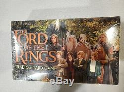 LOTR TRADING CARD GAME Fellowship Of The Ring Booster Box SEALED