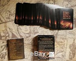 LOTR Trading Card Game 74 Cards The Fellowship of the Ring Aragorn Starter Set
