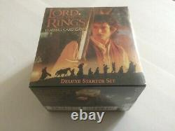 LOTR Trading Card Game, Deluxe Starter Set (A). Brand New, Still sealed