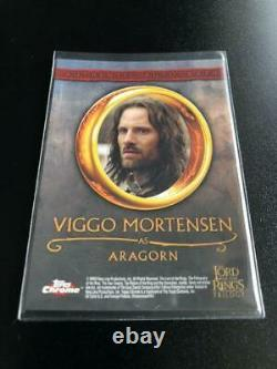 Lord Of The Rings Aragorn Autograph Card