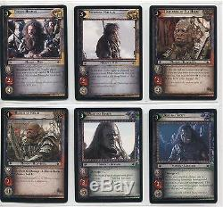 Lord Of The Rings CCG TCG Expanded Middle Earth Complete 15 Card Set 14R1-15
