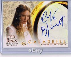 Lord Of The Rings Cate Blanchett Autograph