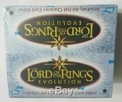 Lord Of The Rings Evolution Sealed Topps Hobby Box Sketch Card Rare