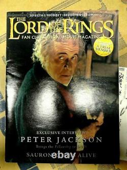 Lord Of The Rings Fan Club Official Movie Magazine Trading Card Game Sealed NEW