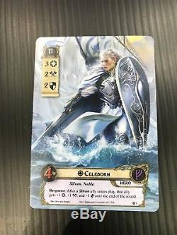 Lord Of The Rings LCG Alt Art Card. Gencon 50 2017 Celeborn