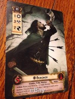 Lord Of The Rings LCG Alternate Art Boromir Gen Con 2016 Exclusive