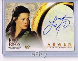 Lord Of The Rings LIV Tyler Autograph