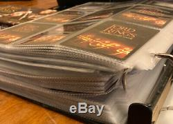 Lord Of The Rings LOTR Massive TCG Collection Binder Foils Rares Tengwar More