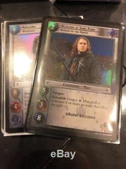 Lord Of The Rings LOTR TCG 1000+Cards Foils And Rares Guaranteed Huge Collection