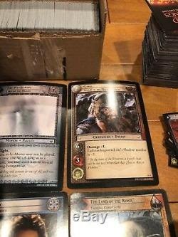 Lord Of The Rings LOTR TCG CCG Collection Jumbo Over Sized PROMO Cards & More