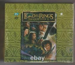 Lord Of The Rings Masterpieces II Hobby Box Trading Card Factory Sealed