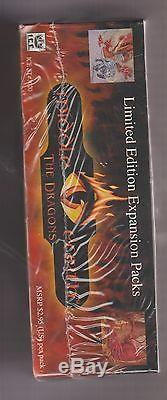 Lord Of The Rings Middle Earth The Dragons Lmtd Factory Sealed Booster Box