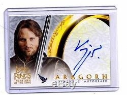 Lord Of The Rings Return Of The King Viggo Mortensen autograph card