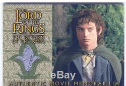 Lord Of The Rings RotK Update Costume Card Frodos Grey Havens Vest