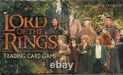 Lord Of The Rings TCG Fellowship Of The Ring Factory Sealed Trading Card Box