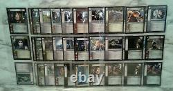 Lord Of The Rings TCG Trading Card Game Lot of 70+ Movie Characters in Sleeves