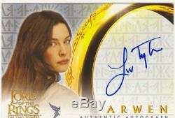 Lord Of The Rings TTT Autograph Card Liv Tyler As Arwen