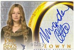 Lord Of The Rings TTT Autograph Card Miranda Otto As Eowyn