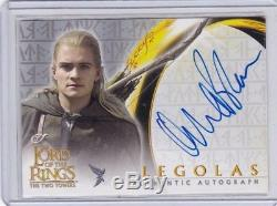 Lord Of The Rings TTT Autograph Card Orlando Bloom As Legolas