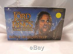Lord Of The Rings Tcg Battle For Helm's Deep Sealed Booster Box Of 36 Packs