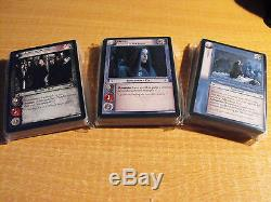 Lord Of The Rings Tcg Ents Of Fangorn Complete Set Of 128 Cards