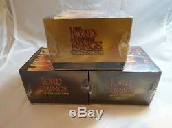 Lord Of The Rings Tcg Fellowship Deluxe Starter Set Of 3