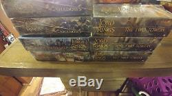 Lord Of The Rings Tcg Lot Of 7 Sealed Booster Boxes Lotr Card Game Collection
