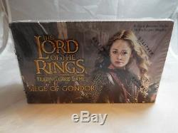 Lord Of The Rings Tcg Seige Of Gondor Complete Sealed Booster Box Of 36 Packs