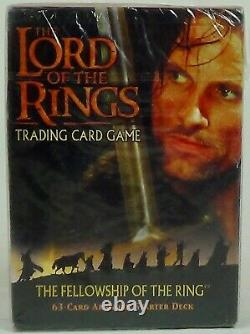 Lord Of The Rings The Fellowship Of The Ring Trading Card Game (Aragorn) New