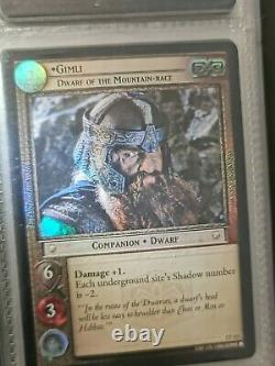 Lord Of The Rings Trading Card Game 12 Card Foil Lot LOTR TCG Promos Foils